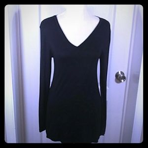 Zenana Outfitters Black Long Sleeve Top